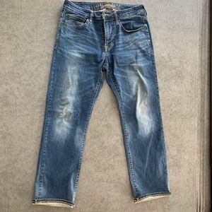 American Eagle original straight flex jeans